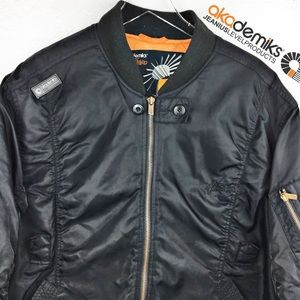 2XL Flight Jacket | akademiks Bomber Coat